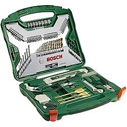 Bosch Coffret X-Line Titane de 103 pièces 2607019331