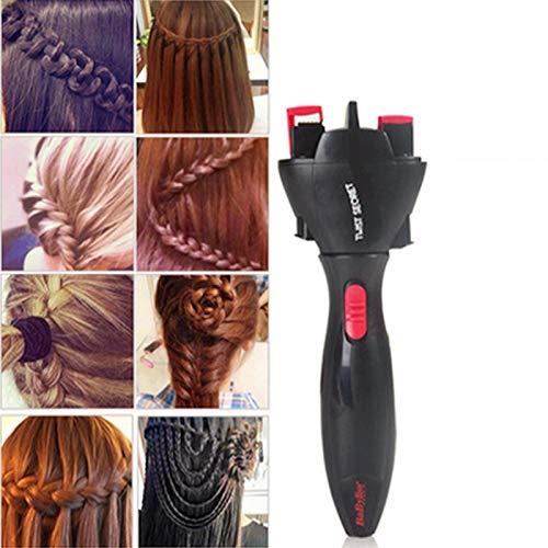 Elektrisches Haarflechtgerät zum automatischen Verdrehen, zum Stricken von Haaren