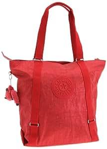 Kipling KYOKO L K10911, Damen Messengerbags, Rot (Red Hot 172), 46x41x15 cm (B x H x T)