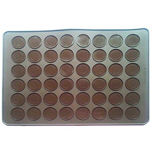 musykrafties groß 48-cavity Macaron Matte Silikon Schokolade Kuchen Cookie Muffin Backblech-Makronen Kit