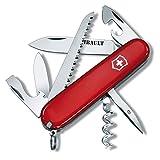 Victorinox Couteau Suisse Camper 13 fonctions - rouge - personnalisé d'un prénom