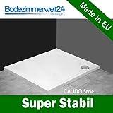 Calido Duschwanne/Duschtasse Superflach 5,5 cm! Modern Rechteck 80x120cm