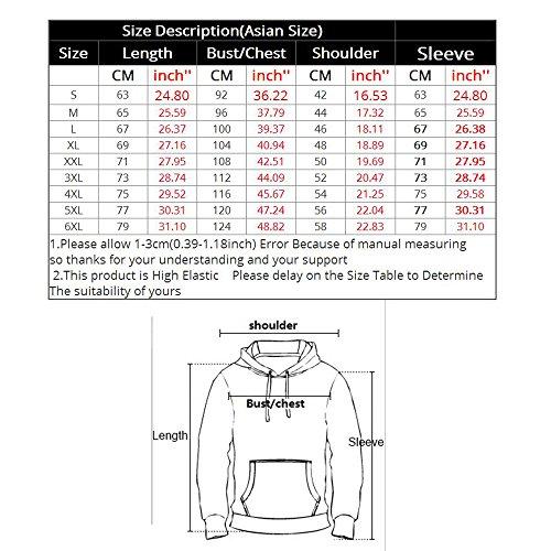ECYC® 3D Loup Imprimé Pulls Sweat-Shirts Unisexes Plus La Taille S-6XL A05