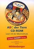 ABC der Tiere. Leseheft Lesen in Silben, Druckschrift, 1 CD-ROM Einzellizenz Bild