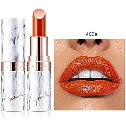 LáPiz Labial Mate Permanente Labiales Mate Larga Duracion Pintalabios De Maquillaje Profesional 24 Colores para NiñAs Y Mujer Beladla