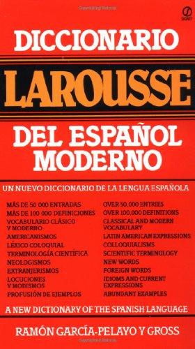 Gross Ramon Garcia : Diccionario Larousse Del Espanol (Signet)