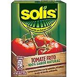 Solis Tomate Frito Brick - Tomate Sin Gluten - Pack de 8 x 350 gr