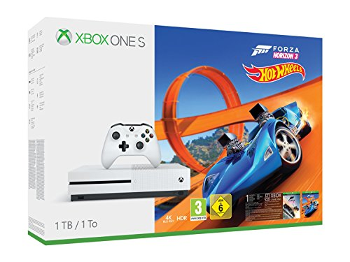 Xbox One S 1TB Console – Forza Horizon 3 Hot Wheels Bundle