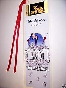 101 DALMATIANS DISNEY CLASSIC Film Cell Bookmark