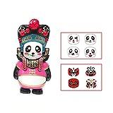 DBHAWKinEU Traditionelle kreative chinesische Oper Panda Changing Face Spielzeug (rosa)