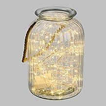 suchergebnis auf f r glas vase mit lichterkette. Black Bedroom Furniture Sets. Home Design Ideas