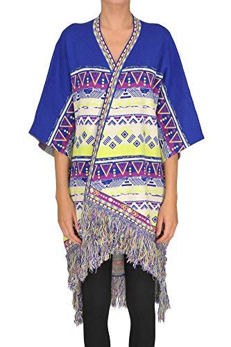 Unica Style Woman Multicoloured Milano Poncho Maxi Tavus Int Cardigan trCQdsh