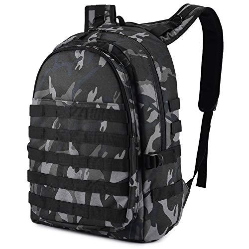 Selighting Taktisch Rucksack Wasserdicht PUBG Ebene 3 Rucksack für Laptop Wandern Trekking Jagd Survival (Camo) -