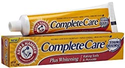 ARM & HAMMER Complete Care Toothpaste Plus Whitening Fresh Mint 6 OZ - Buy Packs and SAVE (Pack of 3)