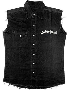 Motörhead England Camicia Senza Maniche Nero