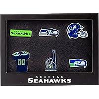 Forever Collectibles Seattle Seahawks Teamlogo NFL Anstecker 6er Set