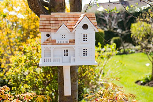 Garden Bazaar hb-2041Buttercup Farm Cottage Vogelhaus–Weiß