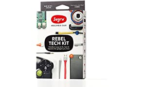 Sugru Rebel Tech Kit, Black, White, Grey and Red