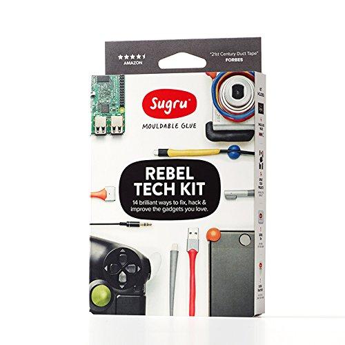 Sugru Rebel Tech kit 4Colour Single Packs–multicolore