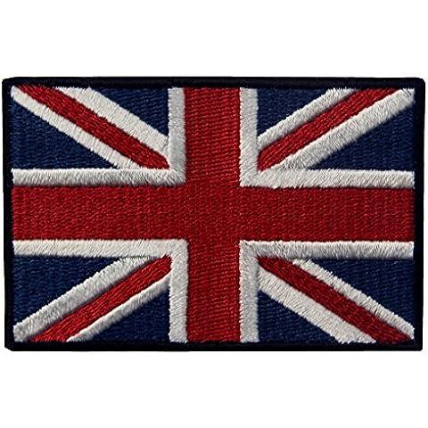 Gran Bandera Brit¨¢nica De Union Jack Bord¨® El Hierro BRIT?NICO De La Bandera De Inglaterra En Cosido En