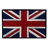 Gran Bandera Brit¨¢nica De Union Jack Bord¨® El Hierro BRIT?NICO De La Bandera De Inglaterra En Cosido En Remiendo