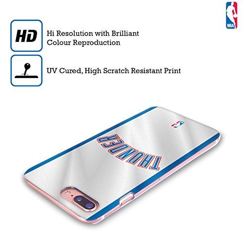 Ufficiale NBA Rovinato Oklahoma City Thunder Cover Retro Rigida per Apple iPhone 7 / iPhone 8 Maglia