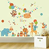 Oren Empower Happiness Is Everything - Party Wall Sticker (Finished Size On Wall - 80(w) X 65(h) Cm)