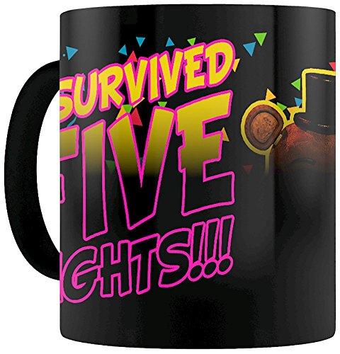 GB eye Ltd GB Eye, Five Nights At Freddys, I Survived, Heat Changing Mug, Various