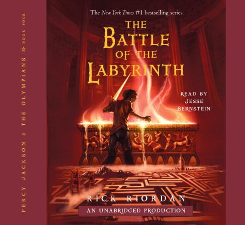 By Rick Riordan: The Battle of the Labyrinth (Percy Jackson and the Olympians, Book 4) [Audiobook]