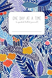 One Day at a Time: (a guided bullet journal) (in blue/floral)