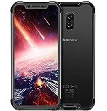Blackview BV9600 PRO – Spitze Outdoor-4G-LTE-Smartphone ohne Vertrag (2018), 19: 9-FHD-AMOLED-Display, Helio P60 6 GB + 128 GB, wasserdicht/staubdicht mit IP68- /IP69K-Zertifizierung - - Schwarz