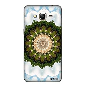 Customizable Hamee Original Designer Cover Thin Fit Crystal Clear Plastic Hard Back Case for Samsung Galaxy J5 (Tree Kaleidoscope)