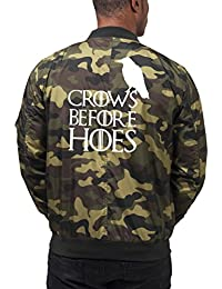 Crows Before Hoes Bomber Chaqueta Camuflaje Certified Freak