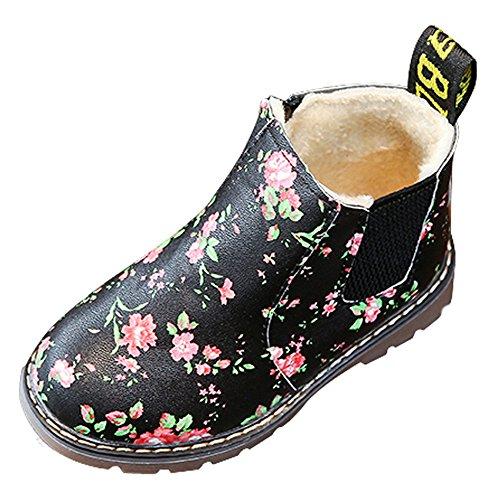 Letter54 Weihnachten Lauflernschuhe Baumwolle Kleinkind Weicher Boots Schuhe Cartoon-Startseite Schuhes Cute Kinderschuhe a406
