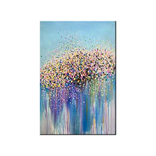 100% Pintura Al Óleo Pintado A Mano Cuadros Abstractos
