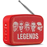 Saregama SCM02 Carvaan Mini Malayalam Bluetooth Speaker (Sunset Red)