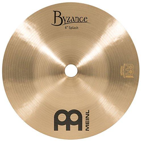Meinl Cymbals B6S Byzance Traditional Serie 15,2 cm (6 Zoll) Splash Becken Traditional Finish Handgehämmert