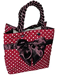 13978b9b2a2f ShopyBucket Great Designer looking Fancy bow bag for multi-purpose use  office and home