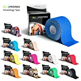 KG Physio Kinesiologie tape 5cm x 5m Rolle ungeschnittenes Kinesiotape