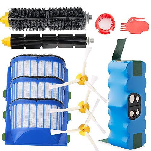 Efluky 4.0Ah batería Repuesto irobot roomba + Kit