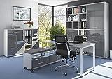 Komplettes Arbeitszimmer - Büromöbel Komplett Set Modell 2016 MAJA SET+