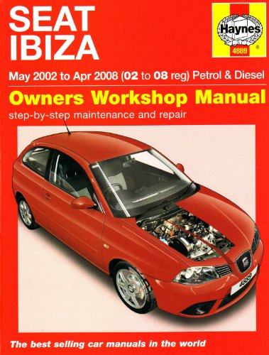 Seat Ibiza Petrol and Diesel: 02 to 08 (Haynes Service and Repair Manuals) por Martynn Randall