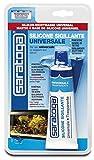 SARATOGA Silicone Universale antimuffa Trasparente, 60 ml