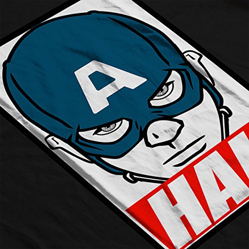 Captain America Hail Obey Men's Vest Black