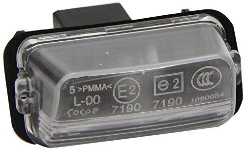 Citroen 6340A3- Lámpara para matrícula