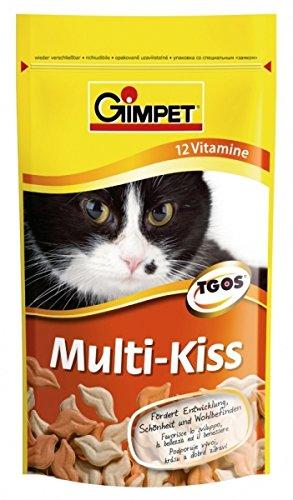 GIMPET Snack per gatto multi kiss gr. 50 - Snack per gatto