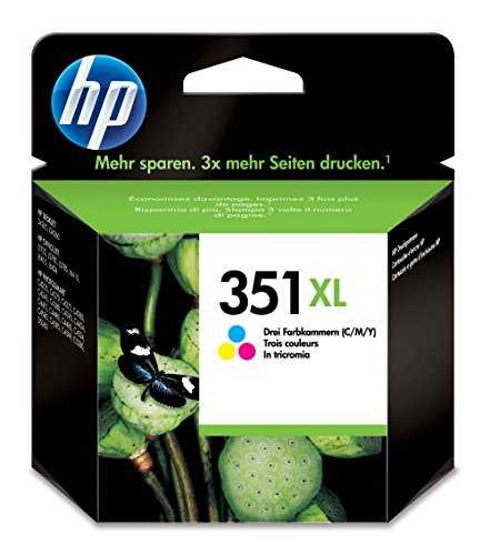 Hp 351 cb338ee - cartuccia d'inchiostro multicolore xl vivera