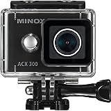 """'Minox 61610""""ACX 300Cámara de acción con wifi Módulo Negro"""