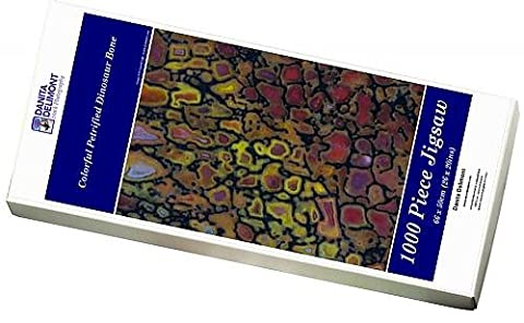 Photo Jigsaw Puzzle of Colorful Petrified Dinosaur Bone