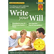 Write Your Will (PC CD)